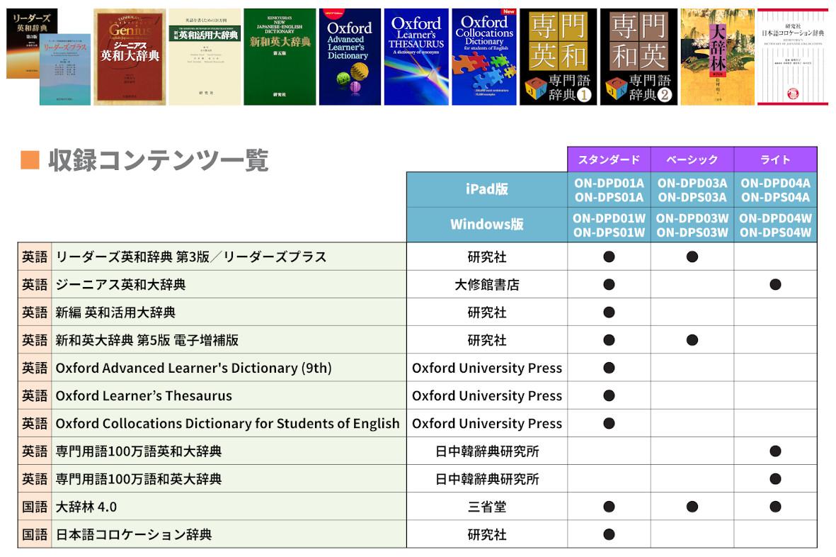 大学生向けラインナップ2020